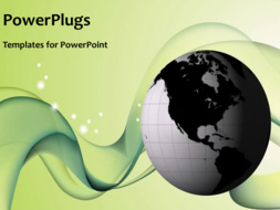 PowerPoint Template - A global network